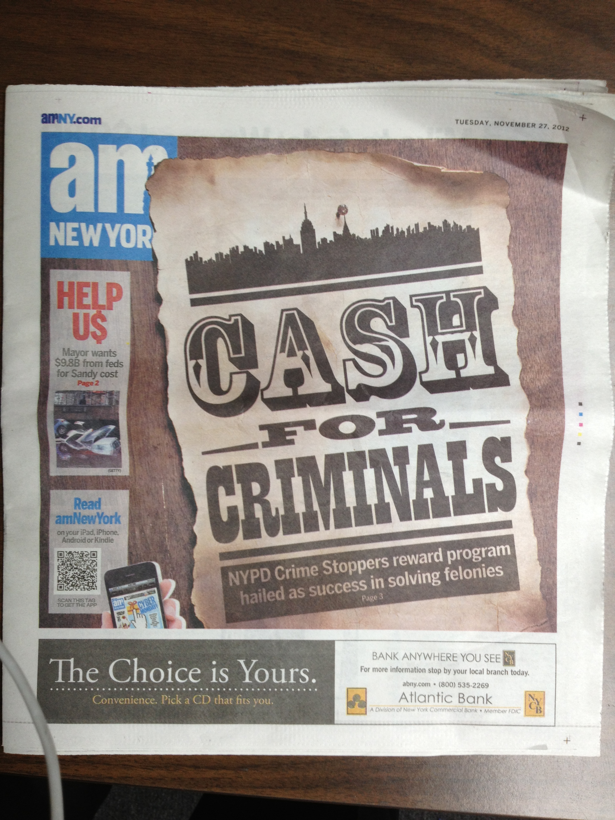 CASH FOR CRIMINALS